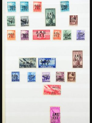 Stamp collection 31407 Triest and Somalia 1903-1954.