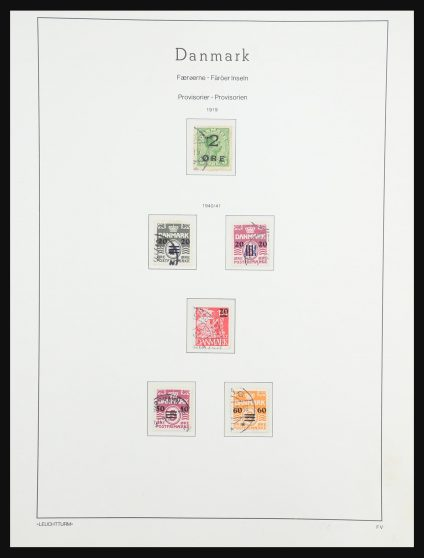 Stamp collection 31419 Faroe Islands 1919(!)-2004.