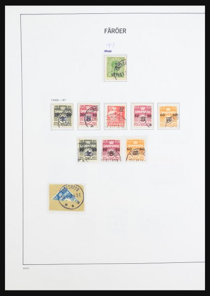 Stamp collection 31426 Faroe Islands 1919(!)-2000.