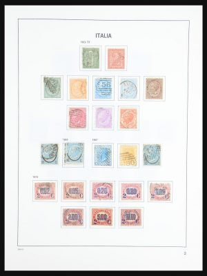 Stamp collection 31433 Italy 1862-1986.