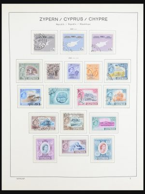Stamp collection 31438 Cyprus 1960-1995.