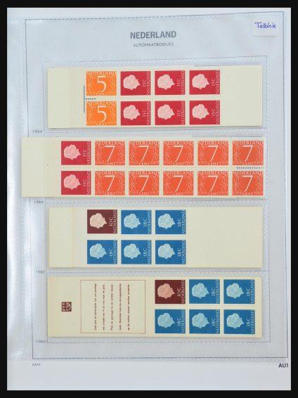 Stamp collection 31470 Netherlands stamp booklets 1964-2006.