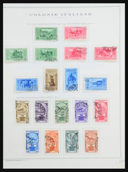 Stamp collection 31484 Italian colonies general issues 1932-1934.