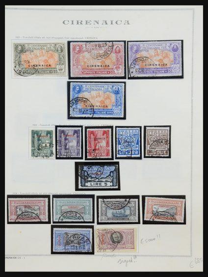 Stamp collection 31488 Cyrenaica 1923-1950.
