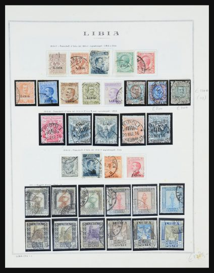 Stamp collection 31490 Italian Lybia and Tripoli 1912-1955.