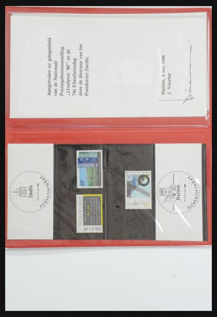 Stamp collection 31495 Netherlands special presentation packs.