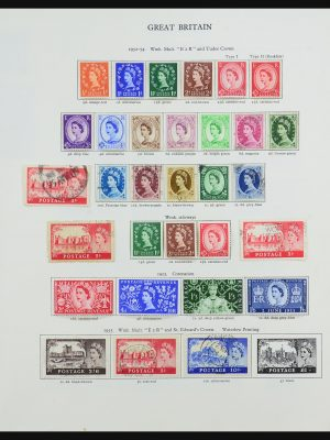 Stamp collection 31503 Great Britain and Commonwealth 1953-1971.