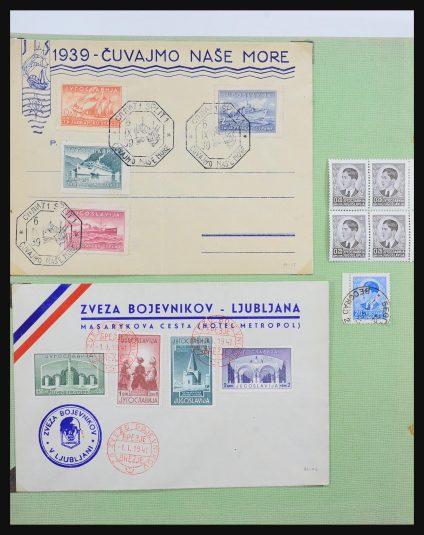 Stamp collection 31504 Yugoslavia 1910-1940.