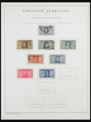 Stamp collection 31511 Italian colonies 1893-1941.