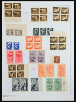 Stamp collection 31512 Italy specialties 1900-1955.