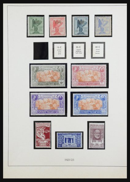 Stamp collection 31513 Italy 1921-1960.