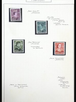 Stamp collection 31516 Art and paintings 1930-1990.