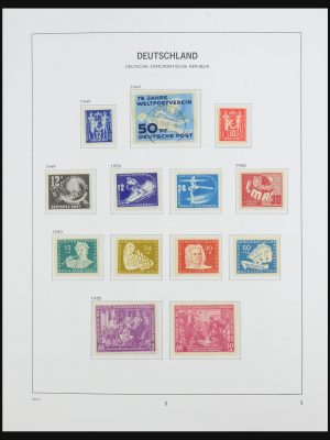 Stamp collection 31520 DDR 1949-1990.