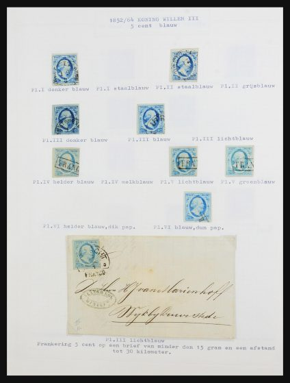 Stamp collection 31522 Netherlands 1852-1981.