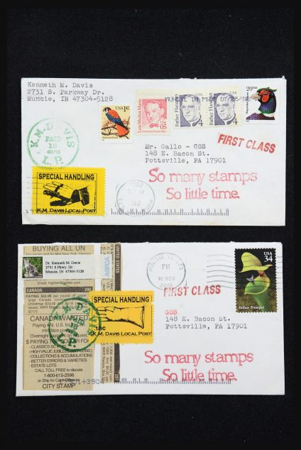 Stamp collection 31530 USA special covers.