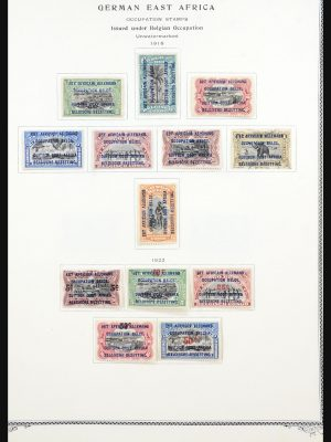 Stamp collection 31534 German colonies 1893-1919.