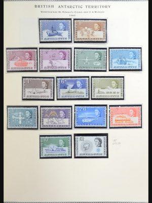 Stamp collection 31539 Falkland Islands 1878-1993.