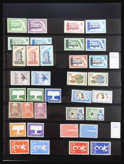 Stamp collection 31546 Europa CEPT 1956-1984.