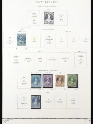 Stamp collection 31551 New Zealand 1855-2000.