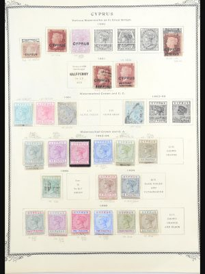Stamp collection 31560 Cyprus 1880-1991.