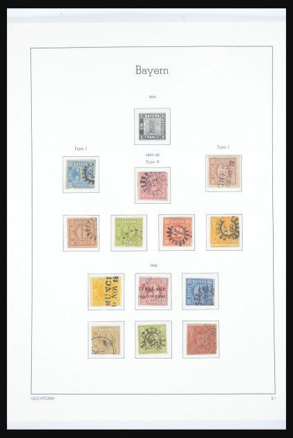 Stamp collection 31563 Bavaria 1850-1920.