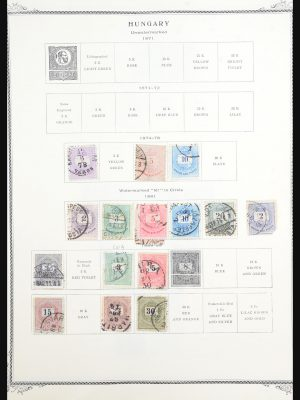 Stamp collection 31577 Hungary 1871-2006.