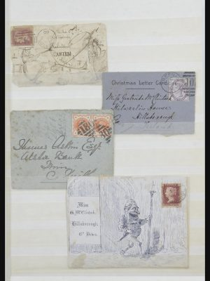 Stamp collection 31579 Ireland covers and FDC's 1860-1975.