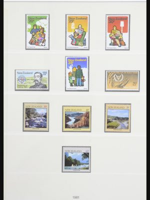 Stamp collection 31583 New Zealand and dependencies 1860-2004.