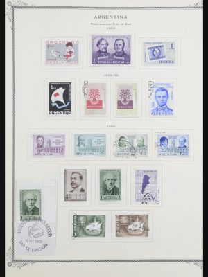 Stamp collection 31585 Latin America 1850-1977.