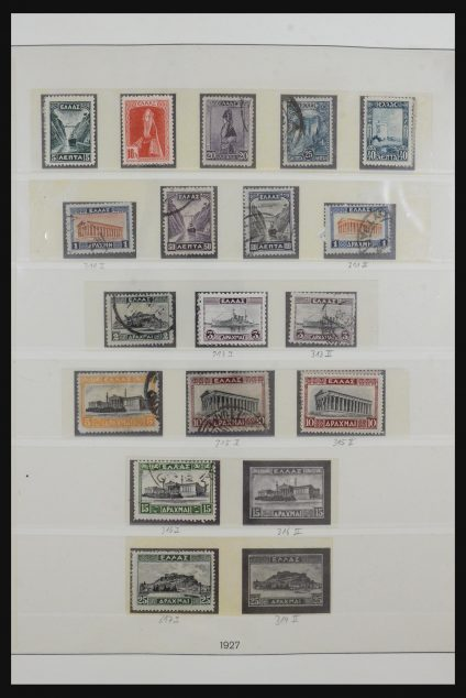 Stamp collection 31596 Greece 1924-1974.