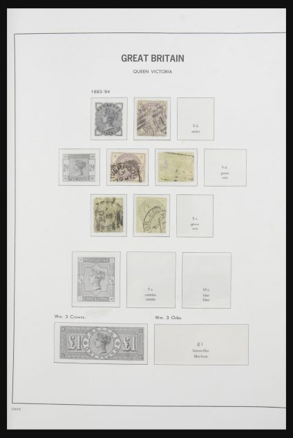 Stamp collection 31606 Great Britain and territories 1840-1950.