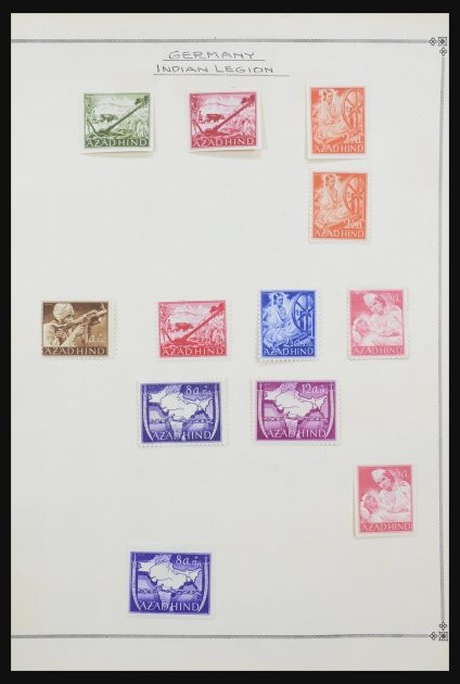 Stamp collection 31608 Germany
