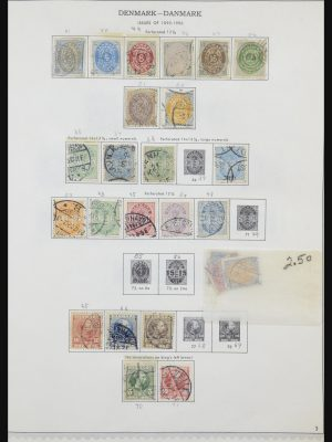 Stamp collection 31612 Scandinavia 1855-2010.