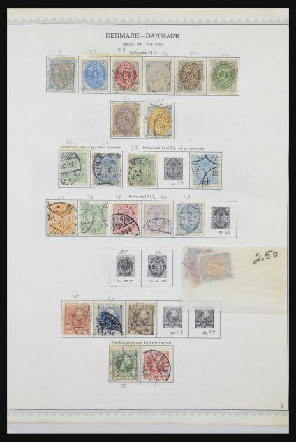 Stamp collection 31612 Scandinavia 1855-2010.