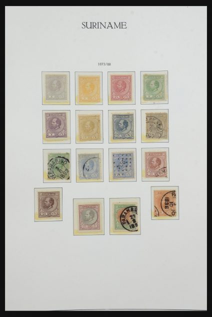 Stamp collection 31616 Suriname 1873-1975.