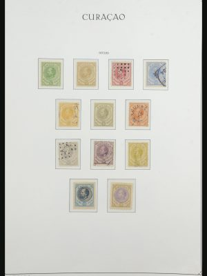 Stamp collection 31617 Curaçao 1873-1948.