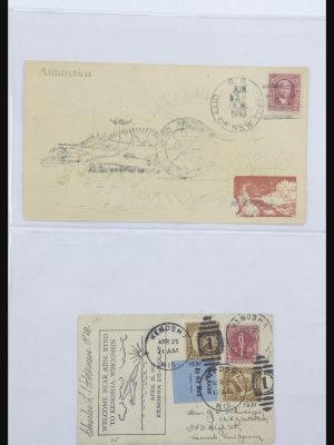 Stamp collection 31627 Byrd Antarctic Expedition 1934.