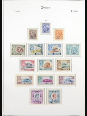 Stamp collection 31628 Cyprus 1960-1984.