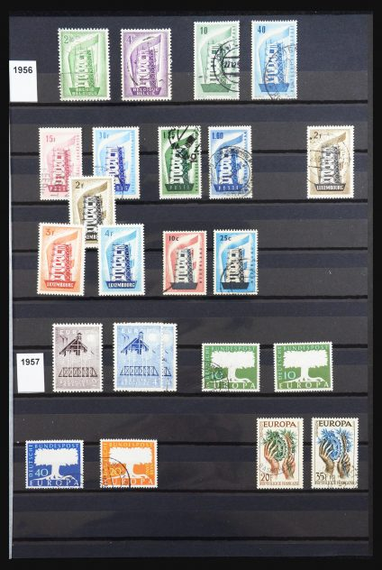 Stamp collection 31633 Europa CEPT 1956-2008.