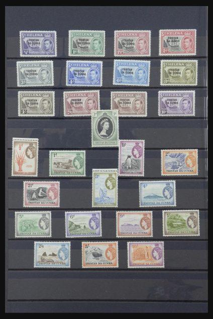 Stamp collection 31634 Tristan da Cunha 1952-1988.