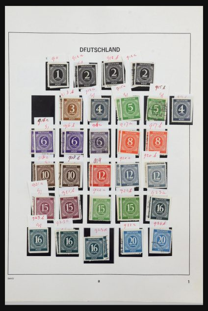 Stamp collection 31635 Bundespost 1949-2000.