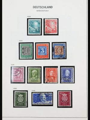 Stamp collection 31637 Bundespost 1949-1989.
