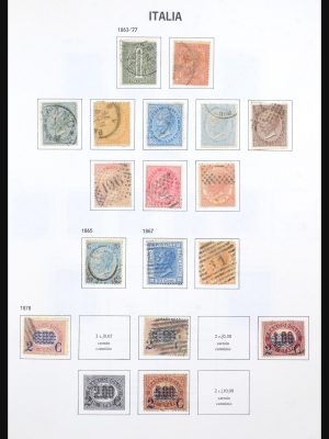 Stamp collection 31640 Italy 1862-1991.