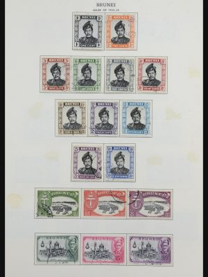Stamp collection 31641 British colonies in Asia 1862-1986.