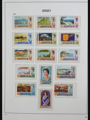 Stamp collection 31642 Jersey 1969-2005.