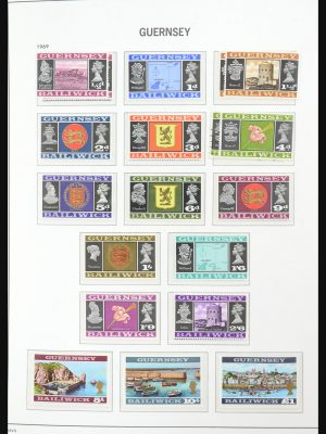 Stamp collection 31643 Guernsey 1969-2005.