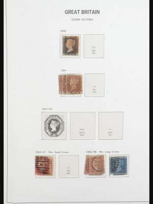Stamp collection 31650 Great Britain 1840-2005.
