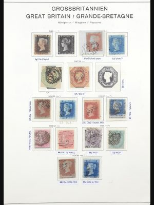 Stamp collection 31653 Great Britain 1840-1951.
