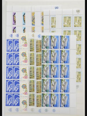 Stamp collection 31665 United Nations 1968-1983.