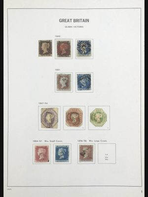 Stamp collection 31679 Great Britain 1840-1985.